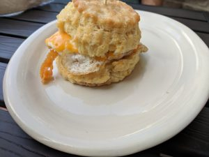 Custom Egg+Cheese Biscuit